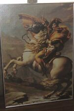 NAPOLEON Bonaparte Completed Puzzle w/ Metal Frame 28x39.75