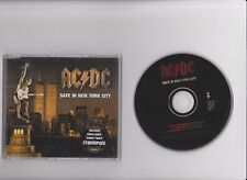 AC/DC AC DC - SAFE IN NEW YORK CITY EU 3 TR RARE CD SINGLE NON LP TRACK