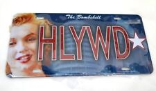 Marilyn Monroe HLYWD License Plate The bombshell Metal plate 12 x 6 Novelty NEW