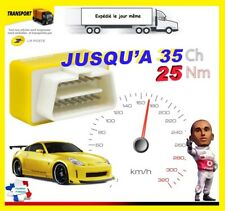 BOITIER ADDITIONNEL ESSENCE PUCE OBD2 CHIP TUNING FIAT GRANDE PUNTO 1.4 8V 77 CV