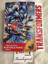NEW Transformers Age of Extinction First Edition Optimus Prime Figure 2 DAY GET