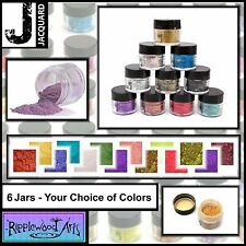 Jacquard Pearl Ex - Powdered Pigments 3gm Jars - Your choice of 6 Colors