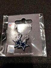 Dallas Cowboys Football NFL Earrings Hypo-Allergenic New