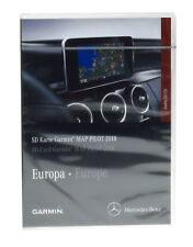 SD v10 OVP  2018 karten / maps von Europa Mercedes Garmin Map Pilot A2189062903