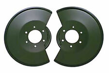 For Jeep Cj 78-86 New Black Disc Brake Dust Covers Pair  X 11212.02
