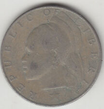 Liberia  - One ( 1 ) Dollar Coin - 1975 - Large Coin