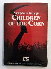 CHILDREN OF THE CORN 1984 VHS Promotional Sticker Stephen King Movie Vintage