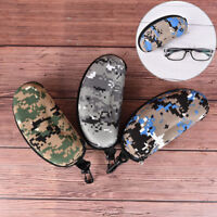 Camouflage glasses Sunglasses Solid Case Glasses Box With zipper Eyeglass Box Pt