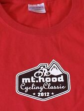 Mt. Hood Cycling Classic 2012 Shirt Medium M Womens T Shirt red OR Portland