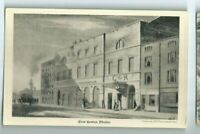 Postcard East London Theatre London Etching Co Holborn