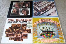 THE BEATLES: 4 LP Lot; 1967-1970; LET IT BE; SECOND ALBUM; MAGICAL MYSTERY TOUR