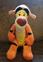 "Disney Store Tigger 15"" Soft Toy Plush Beanie Winnie The Pooh Walt Disney Tiger"