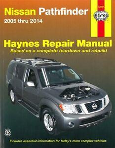 Haynes Handbuch: Nissan Pathfinder 2005-2014 Reparaturanleitung/Reparatur-Buch