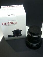 Samyang Obiettivo fisheye 8 mm Canon Fit