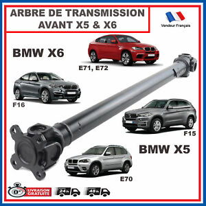 Albero Trasmissione Per Ponte Anteriore BMW X5 E70 X6 E71 = 8605866 7597649
