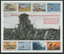 More details for dominica 1995 50th anniversary end of wwii miniature sheet mnh