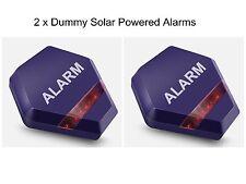 Dummy-alarmglocke Boxen Lockvogel Alarmanlage Bell Box Solar Betrieben