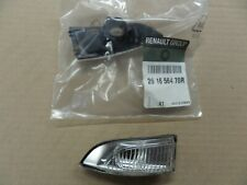 RENAULT Megane Mk3 SCENIC III RETROVISORI INDICATORE Lente Lato Sinistro 261656470R