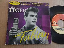 "DISQUE 45T DE FABIAN  "" THE TIGER """