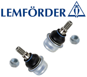Front Lower Control Arm Ball Joint Lt & Rt 2pcs OEM Lemforder Mercedes CL C S SL
