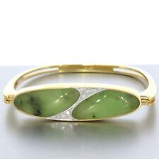 Natürliche Echtschmuck-Armbänder für Damen mit Jade-Hauptstein