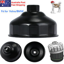 For BMW Volvo Oil Filter Wrench Housing Cap Socket Removal Tool 86mm 16 Flute AU