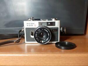 Appareils photo Vintage Ricoh 500G  f=40mm 1:2,8