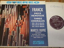 AMS 16030 Franck Piece Heroique / Three Chorales / Dupre P/S