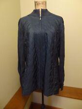 New Croft & Barrow Women's Jacket, 2XL XXL XX-Large, Dark Green