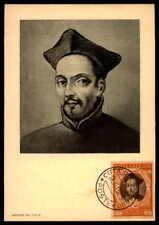 Vatican MK 1950 Concilio Trento Concile maximum carta carte MAXIMUM CARD MC cm dd16