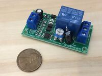 NE555 0-60 sec Timer 12v cycle delay relay switch module Adjustable circuit C21