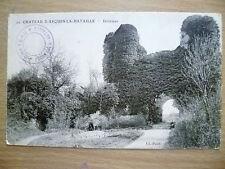 Postcard- CHATEAU D'ARQUES-LA- BATAILLE- Interieur (Exc*)