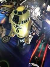 Star Wars SW Pinball Machine R2D2 LED mod Stern
