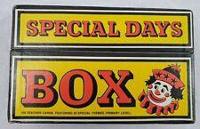"VINTAGE/RARE - ""The Coal Bin"" Teachers Activity Kit Special Days Circa 1975"