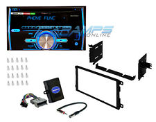 PIONEER DOUBLE 2 DIN CAR STEREO RADIO WITH BLUETOOTH & COMPLETE INSTALLATION KIT