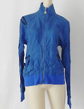 Converse One Star Jacket Blue Full Zip Pockets Size L