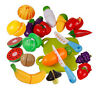 Fruit Cutting Set Kitchen Role Play Fruit Vegetable Food Reusable Pretend