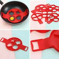 Egg Ring Pancakes Maker Cheese Egg Cooker Pan Flip Mold Nonstick Pancake N Top