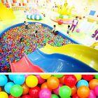 50pcs Kids Colorful Soft Play Balls Toy Ball Swim Pit Plastic Ball Ocean Pool