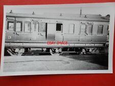 PHOTO  LMS 3RD CLASS / BRAKE COACH NO 18332