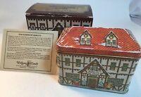 Wolfgang Candy Das Sweeten Shoppe Holiday Collector's Tin 1994 Original Box