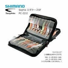 SHIMANO Sephia Egi Egging Lure Case Holder Pouch Size LW #3-#4 32-36 Egis