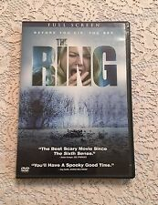 The Ring Full Screen DVD Scary Horror Movie Naomi Watts Urban Legend Video 2003