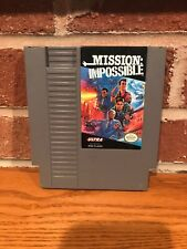 MISSION IMPOSSIBLE Game Only for Nintendo NES Cleaned Tested