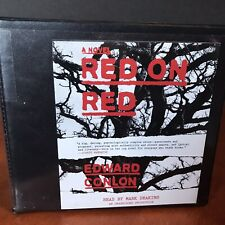 Red on Red Audio Book CD Set Edward Conlon NYPD Police Detectives Novel Fiction