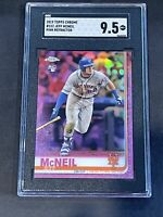2019 Topps Chrome Pink Refractor SGC 9.5 Jeff McNeil RC Rookie PSA ?