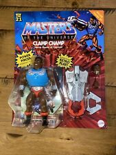 CLAMP CHAMP He Man Masters of the Universe Retro 2021 Deluxe Figure MOTU In Hand