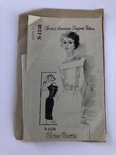 Vintage SPADEA Eloise Curtis Dress Uncut Pattern Size 14 #1158