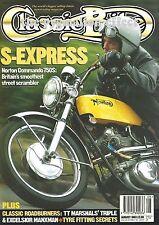 Norton Commando 750S 1939 OHV 350cc Excelsior Triumph 750cc BSA Triumph Rocket-3