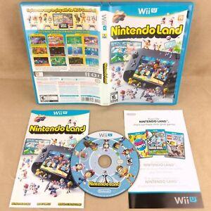Nintendo Wii U Nintendo Land - Complete - Tested & Working